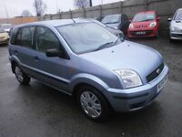 2004 FORD FUSION 1.6 5DOOR HATCHBACK, SERVICE HISTORY, HPI CLEAR ,CLEAN CAR, DRIVES VERY NICE