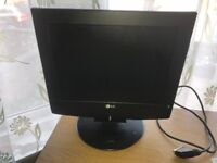 Small Colour TV/PC Monitor. Working, Collection Eastleigh