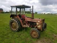 International tractor new starter & clutch needs engine repair