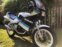 Suzuki, RG250 gamma,1984, 247 (cc) low mileage. newly restored.