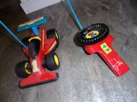 Fisher Price Toy Racing car with separate controls