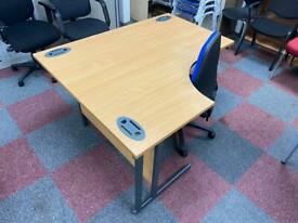 Left Hand Curve Desk