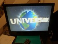 TV Flat screen 22inch built in DVD player with remote