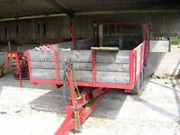 Tractor Trailer 7.5 ton, stripped down, painted, reboarded, good tyres,