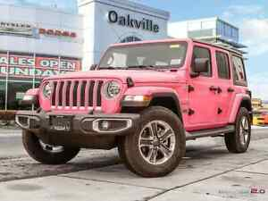 2018 Jeep All-New Wrangler Unlimited SAHARA   WRAPPED IN PINK  