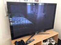 "50"" Samsung Full Hd 3D plasma (built in freeview hd)"