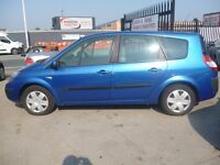 Renault Grand Scenic,1.6 petrol 7 seat MPV,really nice family car,runs and drives very well
