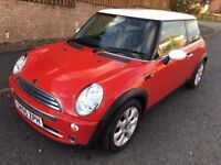 MINI COOPER 1.6 HATCH ** 05 PLATE ** ONLY 37,000 MILES **