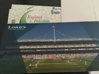 X2 PAKISTAN VS ENGLAND ODI @ LORDS. ROW 3 SOLD OUT EVENT TICKETS