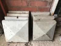 Square coping stones