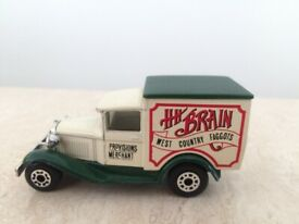 Matchbox Superfast Model A Ford H H Brain Die Cast West Country Faggots 1979