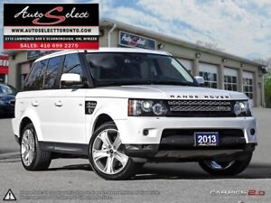 2013 Land Rover Range Rover Sport Luxury Edition AWD HSE ONLY...