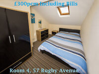 Double Rooms to rent in Ormeau Road, Lisburn Road & Stranmillis, All Bills Included!!!