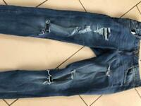 Size 12 ripped jeans