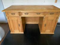 Lovely Vintage Pine Desk or Dressing Table