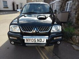Limited edition animal L200, full leather interior, Never been towed, never been off-road.