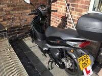 Nearly new Moped
