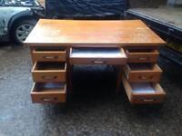 Desk oak