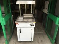 NEW CHIP DUMP SCUTTLE MACHINE CATERING COMMERCIAL KITCHEN BBQ SHOP