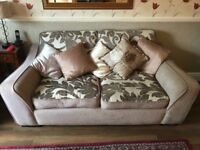 Pre-owned SCS Beige 3 seater sofa