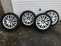 Audi Alloy wheels and tyres