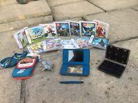 Nintendo DSi XL plus 12 Games plus Carry Case & Games Case (24 spaces)