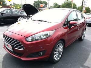 2014 FORD FIESTA SE- SYNC, HEATED SEATS, LEATHER WRAP WHEEL, ALL