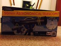 50mm Astronomical Telescope (National Geography)