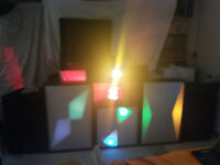 Complete Disco Setup Lights Speakers Citronic CL12D Decks Vintage 1980's