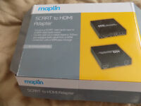 SCART to HDMI adapter