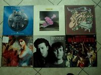 6 x vinyl records