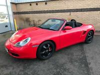 Gorgeous Guards Red Porsche Boxster Tiptronic S 1 years MOT