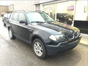 2006 BMW X3 2.5i / 4X4 / SPORT PKG. WITH PANO ROOF