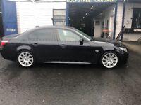BMW five series 3 L diesel auto MOT M sport plus low mileage 73,000 on the clock damage repair