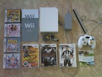 BUNDLE OF WII + DS GAMES + CONSOLE