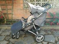 Silver Cross XT Pushchair - Grey
