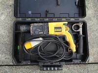 Dewalt DW566L- xw sds 3 mode 110v