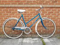 Vintage Centurion Womens Ladies Bike - Blue & White - 3 Speed - Excellent Condition