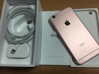 iPhone 6s rose gold 32gb excellent condition