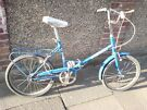 CLASSIC 1970's FOLDING BICYCLE