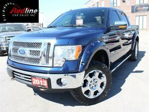 2012 Ford F-150 Lariat EcoBoost Nav-Roof-20's-Lifted-Wheel Flair
