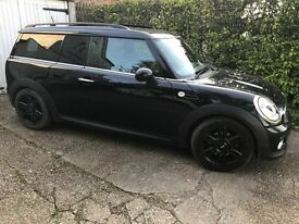 Stunning all black mini clubman