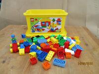 lego duplo yellow box
