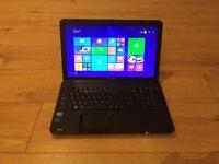 Toshiba Satellite c850✔8Gb Ram✔300Gb Hdd Storage✔ Windows 8.1 Pro Laptop