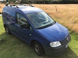 VW Caddy van mini micro camper - Volkswagen 1.9L SDi diesel - campervan work surf delivery courier