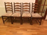 Dining chairs four fantastic ercol chairs