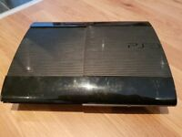 PS3 Super Slim Console, 500GB, Black + FREE Games + HDMI cable