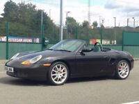 2000 (May W) PORSCHE BOXSTER 3.2 S - Roadster 2 Dr - Petrol - Manual - BLACK *FULL HISTORY/LONG MOT*