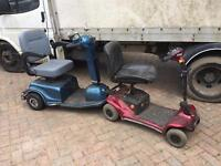 Pair of mobility scooters spares repairs £60 the pair or £40 each