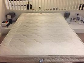 King Size Mattress with Free Fitted Mattress Cover